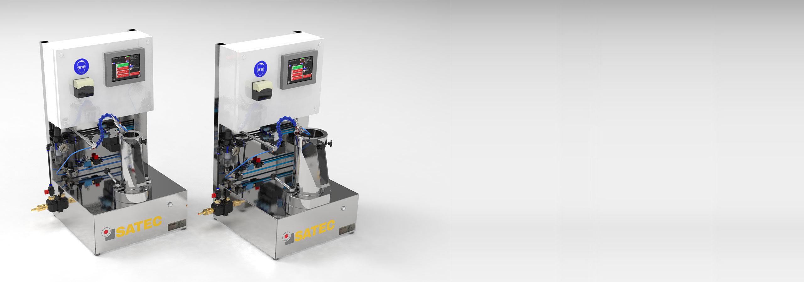 Laboratory coating machine