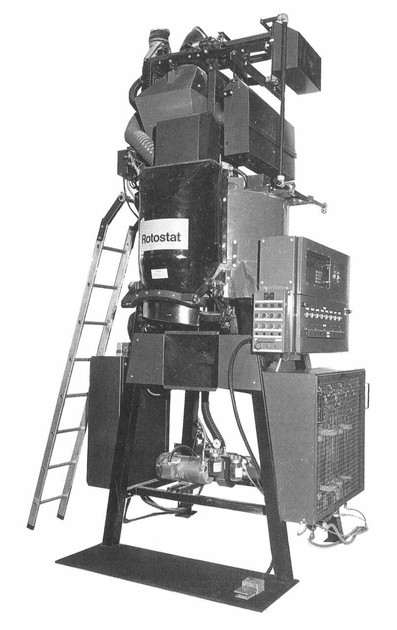 ICI seed treating machine ROTOSTAT (1981)